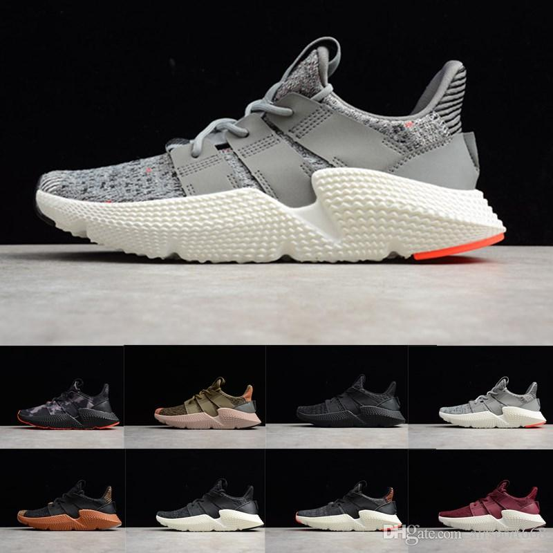 low priced 81d9b d4ee2 2019 New Designer Prophere EQT Climacool Men Running Shoes Triple s Black  white Blue Trace Olive Women Sports Sneaker size 5-11