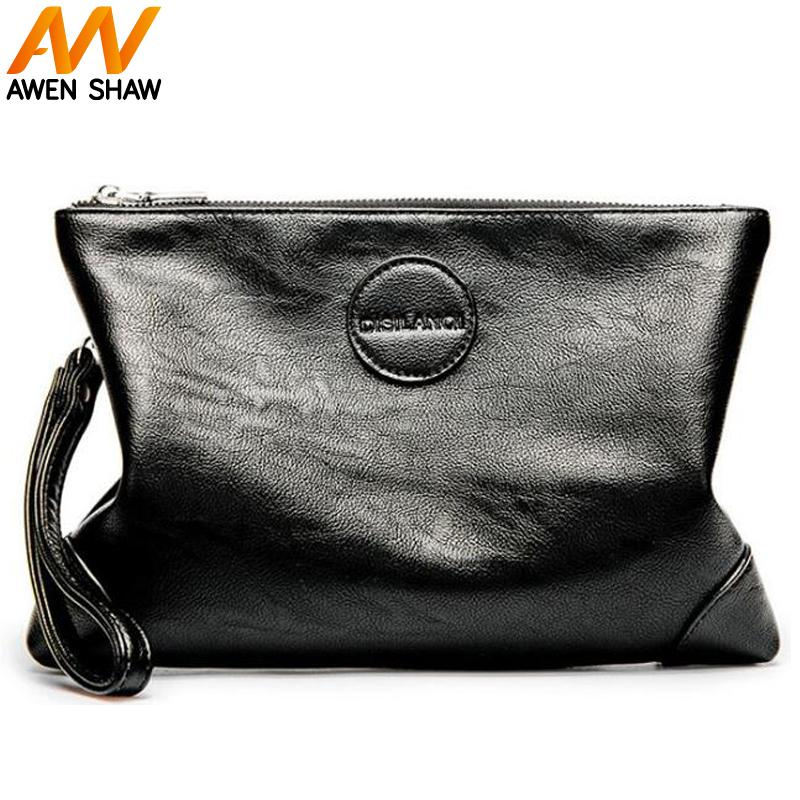 AWEN SHAW New Personalized Leather Mens Fashion