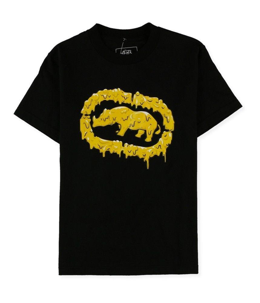 3aea93706 Compre Ecko Unltd. Camiseta Masculina Melted Bright Graphic T Preto De  Parodytees24, $11.17 | Pt.Dhgate.Com