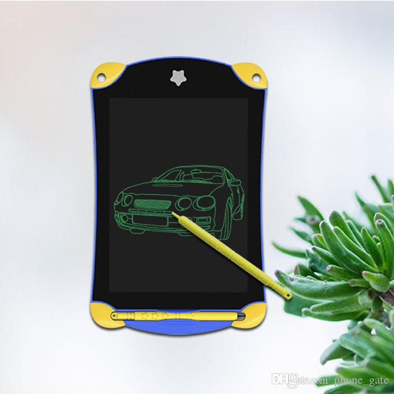 8.5 дюймов ЖК-планшет цифровой портативный рисунок таблетки почерк колодки электронные таблетки писать доска для взрослых дети дети студент