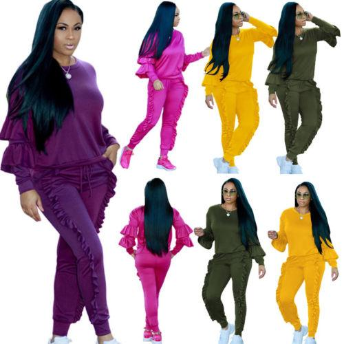 d9a900c471a 2019 Women'S Sport Hoodies Sweatshirt Crop Tops Pants Set Tracksuit Sweat  Suit From Johiny, $33.62 | DHgate.Com