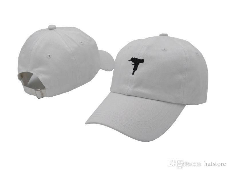 76cadc1503 Uzi Gun White Ball Caps Casquette Peaked Cap Fashion Snapbacks Hip Hop Snapback  Men Women Summer Beach Sun Hats Cool Sports Hat Caps Trucker Cap Snapback  ...
