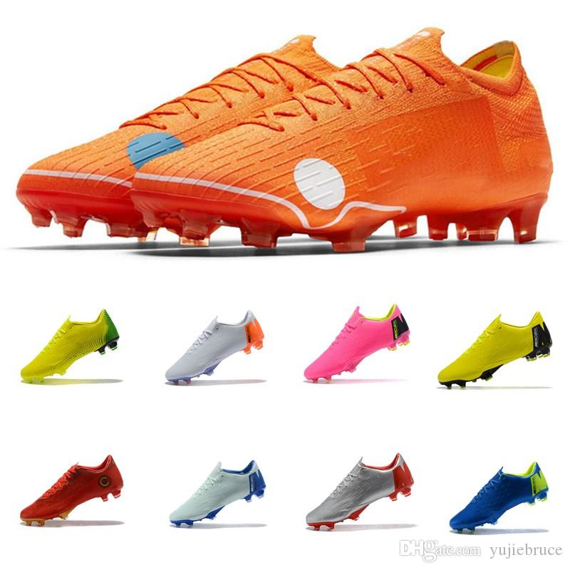 release date: 5ea2d 464c2 2018 World Cup Mens Designer Low Ankle Soccer Cleats Mercurial Vapor XII  PRO FG Soccer Shoes Men Football Boots Ronaldo CR7 Canada 2019 From  Yujiebruce, ...