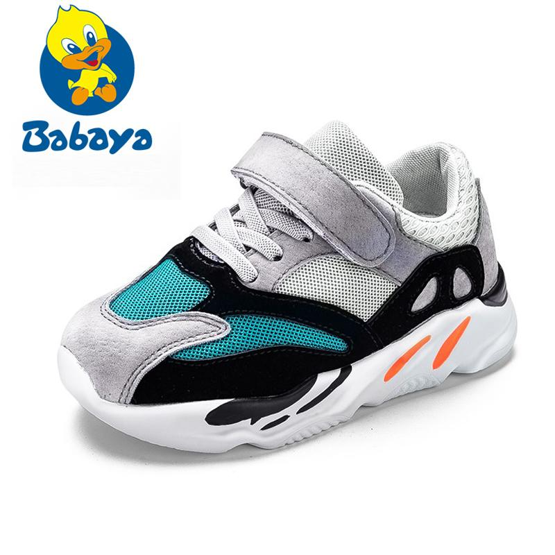 Spring Autumn Kids Shoes 2018 Fashion Mesh Casual Children Sneakers ... f3b874d09c7a