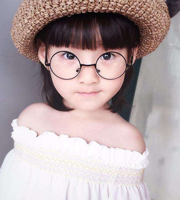 aca08e2571 2019 2017 NEW Boys Girls Round Clear Lens Cool Glasses Frames Children Eye  Glasses Multi Color Metal Frame Kids Oculos N846 From Gwyseller