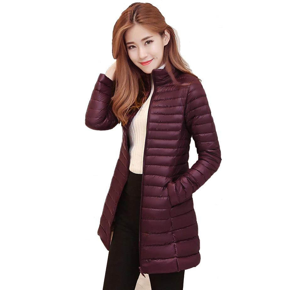 be146ebadecd7 2019 2018 Winter Women'S Lightweight Packable Down Jacket Outwear Puffer  Down Coats S1031 From Ruiqi03, $52.27   DHgate.Com