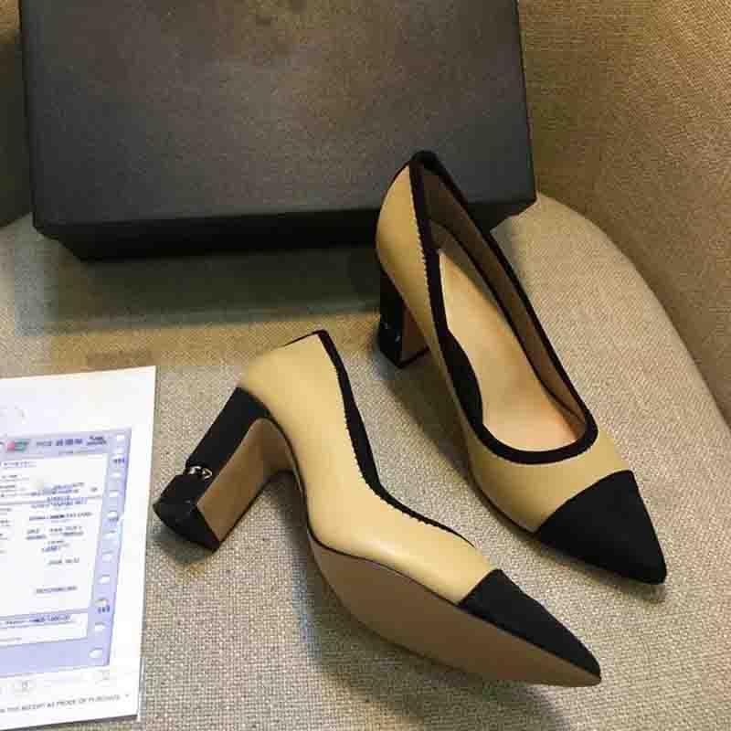 a5718305d1f7ca Großhandel Mode Luxus Designer Frauen Schuhe High Heels Kleid Schuhe  Designer Schuhe Frauen Pumpen Kalbsleder Mode Rote Böden Fersen Loafers Von  ...