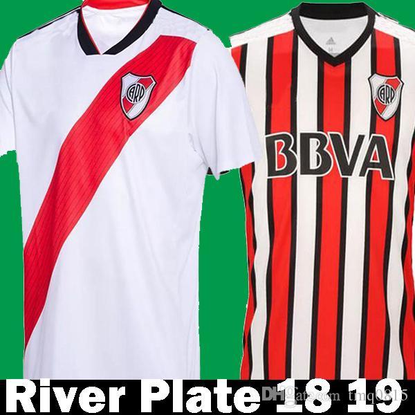 Thialand 2018 2019 River Plate Home White Soccer Jerseys 18 19 Camisa De  Futebol Maillot Third Away PEREZ CASCO MARTINEZ Football Shirts Canada 2019  From ... 14a0a8557