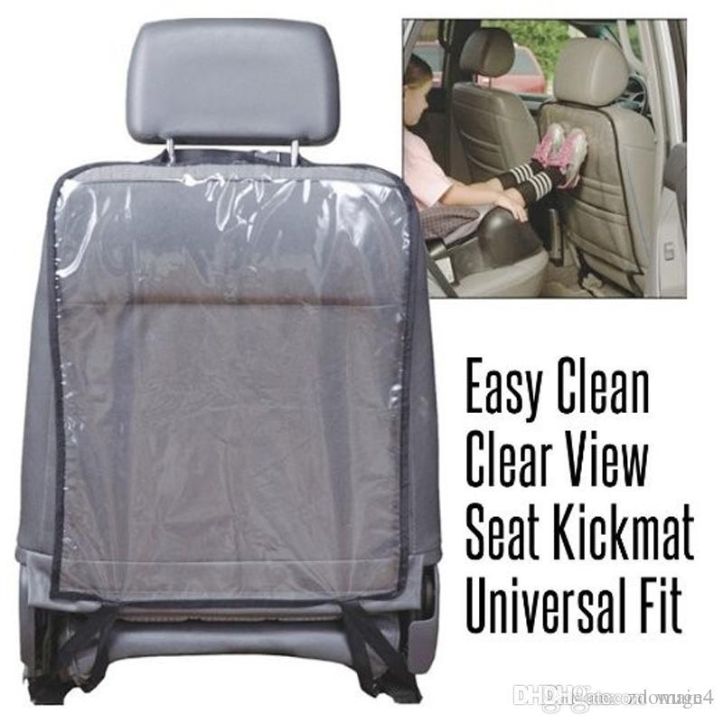 Transparent Car Seat Back Protector Cover Backseat For Baby Kids ...