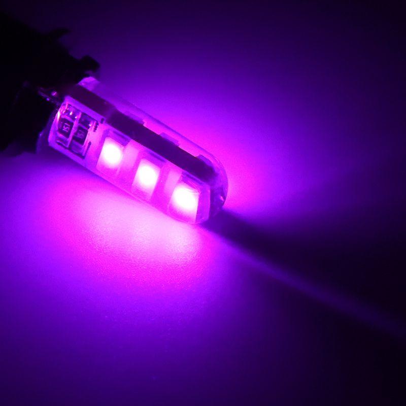 W5W 6 LED araba iç ışık 5630 5730 LED lamba 12 V 194 501 ampul kama park kubbe ışık beyaz otomatik Dönüş Yan lambalar 12 V