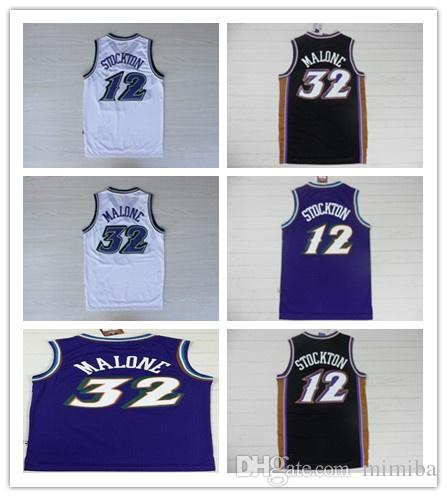 half off 4d933 f5116 new Utah 45 Donovan Mitchell 3 Ricky Rubio Jazz JERSEY 27 Rudy Gobert 2 Joe  Ingles 12 John Stockton 32 Karl Malone Basketball Jerseys