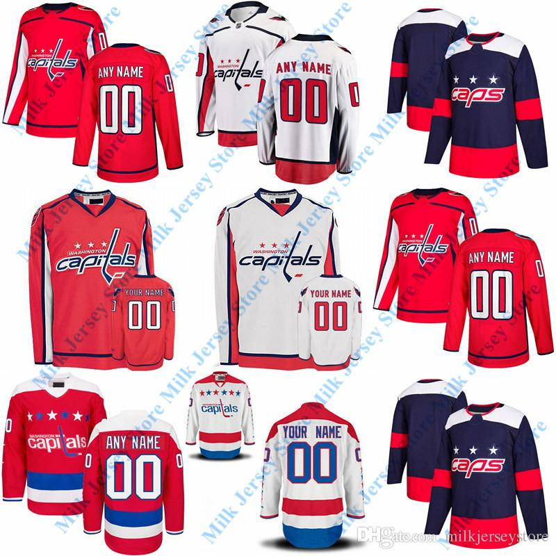 bf98ecb70ae 2019 Mens Women Youth Custom Washington Capitals Jersey OLD BRAND Home Red  White Personalized Hockey From Milkjerseystore, $26.4 | DHgate.Com