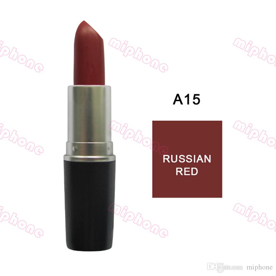 Retro Matte Lipstick Waterproof Long Lasting Batom 3g M-822 41 color available Lip Rouge Fashion Women Makeup Cosmetics lipstick CHILI