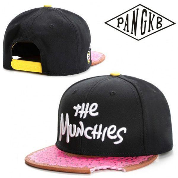 a464af70c75bf Compre PANGKB Marca MUNCHIES Gorros Snapback Gorro De Los Hombres Sombrero  De Las Mujeres De Adultos Hip Hop Headwear Gorra De Béisbol Al Aire Libre  ...