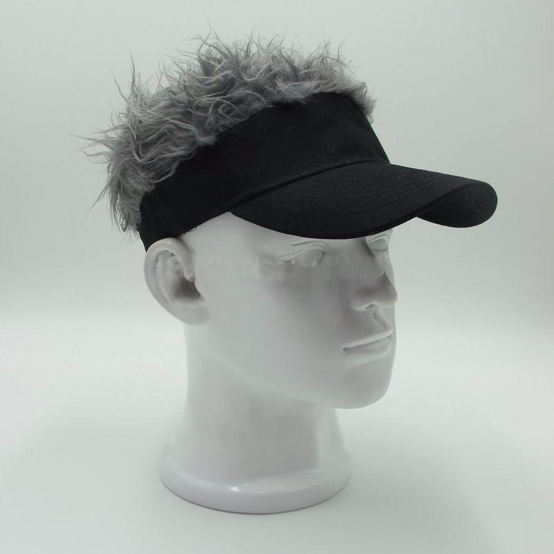 Adjustable Baseball Hat Man S Women S Toupee Wig Funny Hair Loss Cool Golf  Caps Novelty Baseball Cap Hat Stores Custom Trucker Hats From Hot fashions 8fafc162cf4