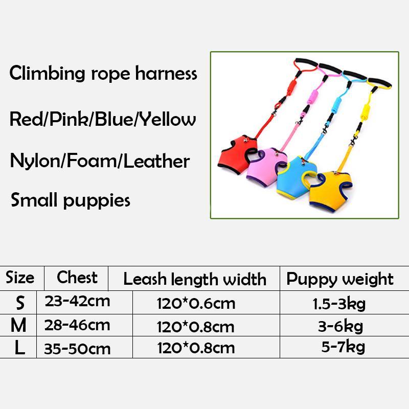 شبكة الكلب تسخير سترة المقود مجموعة للكلاب الصغيرة رغوة لينة مقبض قابل للتعديل جرو الحيوانات الأليفة الصدر حزام حبل يؤدي مستلزمات الحيوانات الأليفة مع جرس