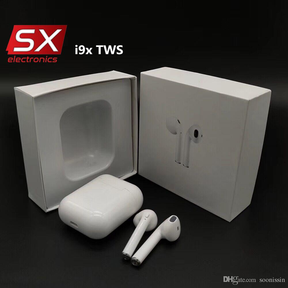 b9d2cb688af I9x TWS True Wireless Stereo Small Bluetooth Headphones Earphones V4.2+EDR  With Retail Box For Iphone For Samsung Smart Phone Canada 2019 From  Soonissin, ...