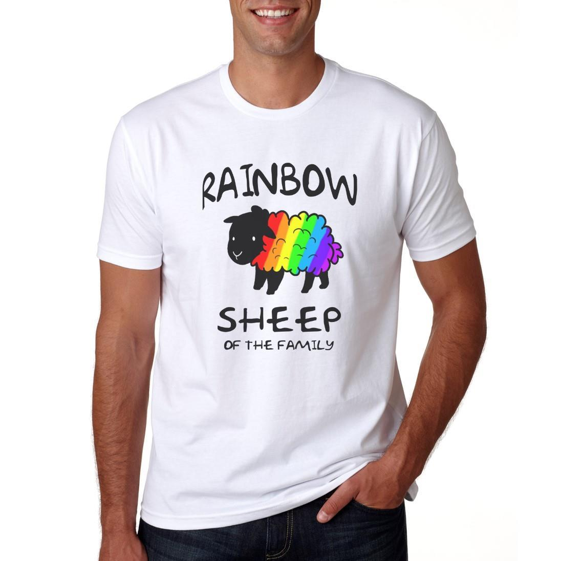 Of Para The Family Lgbt Compre Rainbow Camiseta Hombre Sheep qUtTwOwF