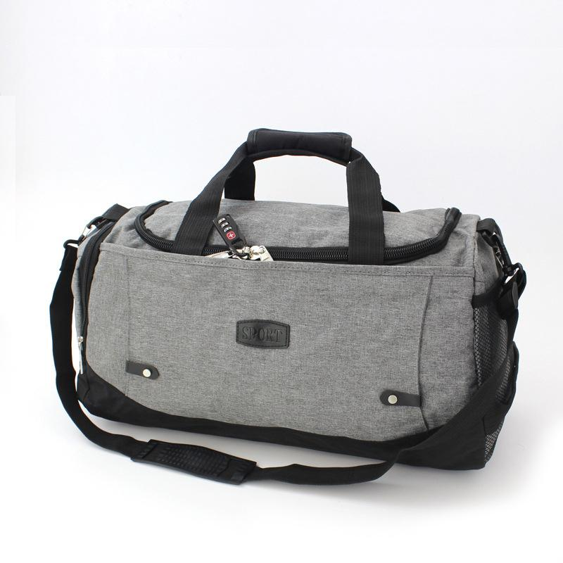 Waterproof Duffle Bags >> Emarald Classic Travel Bags Waterproof Duffle Bag Weekender Bag For Men Travel Overnight Carry On With Shoes Compartment
