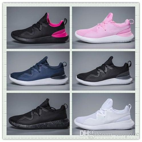 Triple Black White TESSEN Olympic Shoes Pink Men Women Outdoors Trainers Sneakers With Boxes Size US7--10 Hot Sale