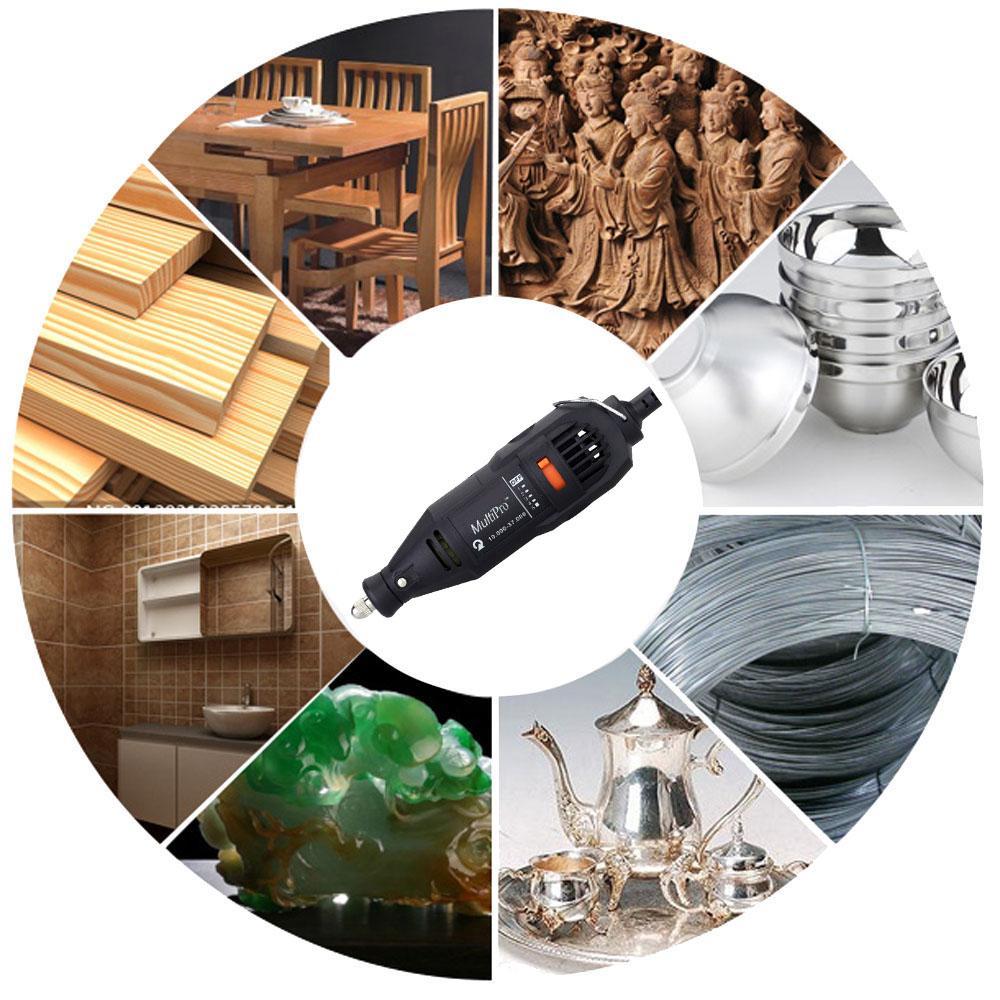 Electric Drill dremel Grinding Set Regulating Speed engraver Grinder for Milling Polishing Engraving machine Accessories