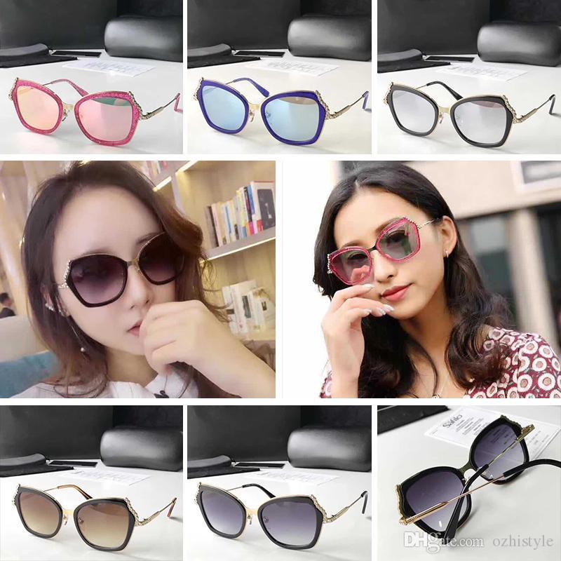 Großhandel Luxus Chanel Ch5023 Sonnenbrille Für Frauen Design Mode ...