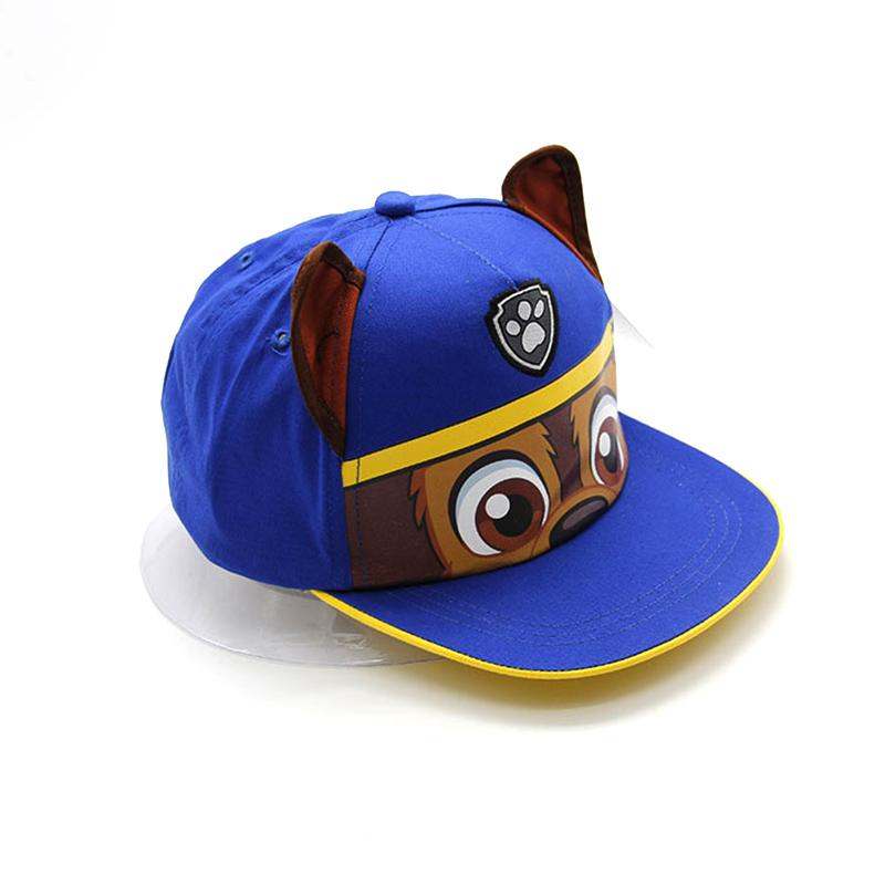 c0dc0efce61 2019 2018 Fashion Cartoon Dog Printed Boys Caps Adjustable Baseball Cap  Blue Kids Hats From Vanilla14