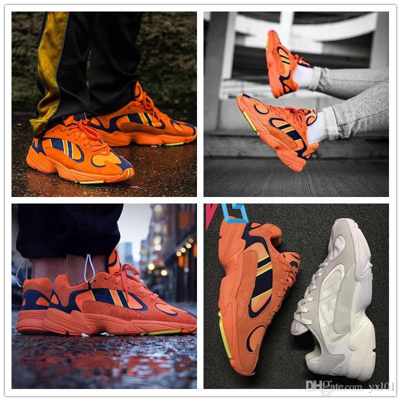 2019 Adidas Yung 1 X Dragon Ball Z zapatillas de correr para hombre mujer Kanye West 700 zapatillas deportivas de diseñador con caja original
