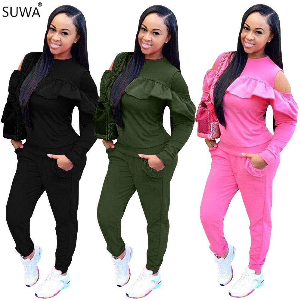 2019 Body Feminino 2017 Hot Sale Winter Outfit Bodysuit Women Long Puff  Sleeve Combinaison Femme Jumpsuit LD8025 From Redbud06, $37.8