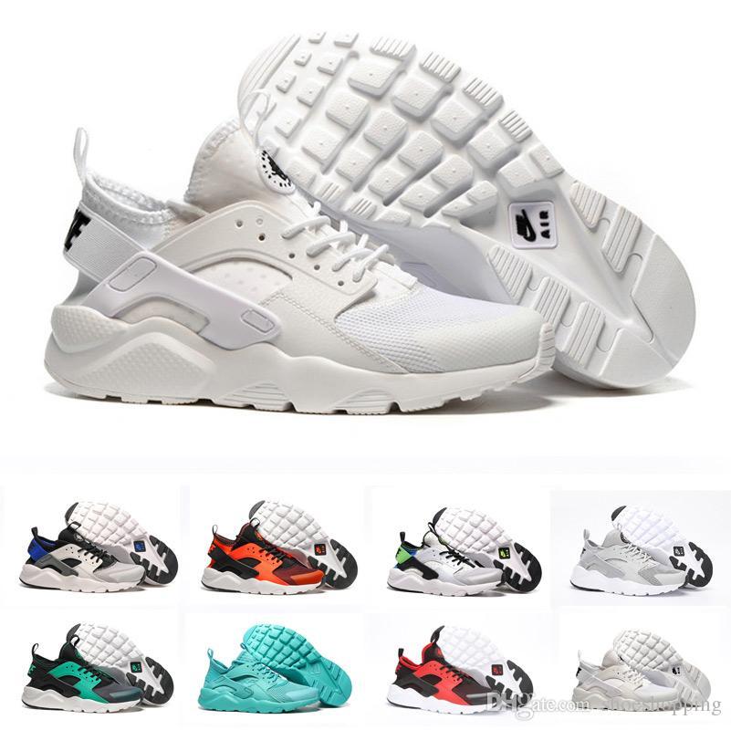 2ee16e2a44d62 Wholesale Huarache 4.0 1.0 Ultra Run Sneakers Man Shoes Triple White ...