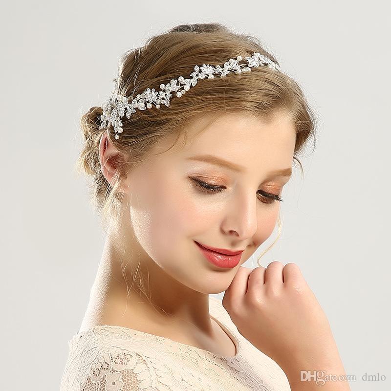 2019 Wedding Hairbands Headbands Gold Silver Bridal Hair Bands