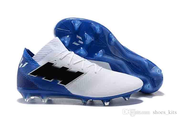 quality design 05b90 0efa2 Compre 2018 Copa Del Mundo Original Nemeziz Messi 18.1 Zapatos De Fútbol  Para Hombre FG Zapatos De Fútbol Purecontrol Training Adulto Zapatos  Casuales A ...