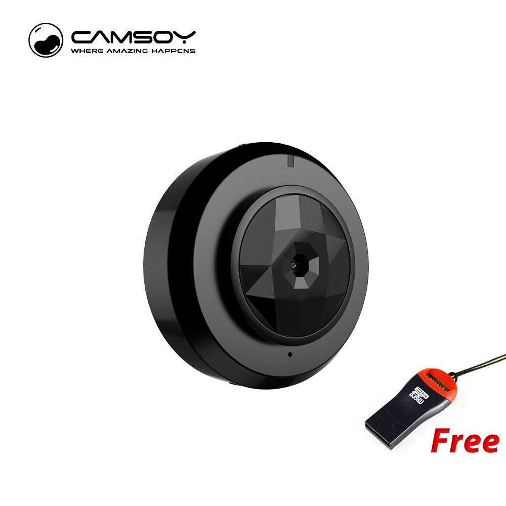 C6 Mini Kamera With Wifi Connect IP Control HD 720P Video Resolution and Motion Detection Mini Camera