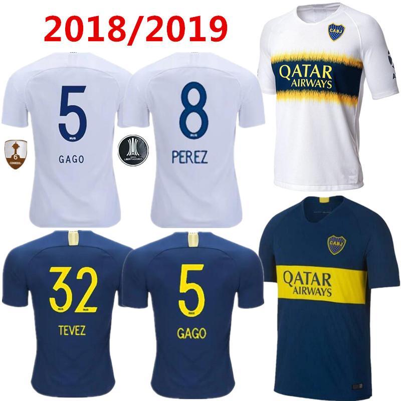 Compre Top Qualidade Tailandesa 2018 2019 Boca Juniors Camisa De Futebol  Casa Fora 3RD 18 19 Boca Juniors GAGO OSVALDO CARLITOS PEREZ P Camisas De  Futebol ... 634cd9d57c81a
