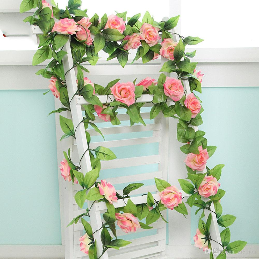 240cm Atmospheric Luxury Wedding Decorations Silk Roses Artificial