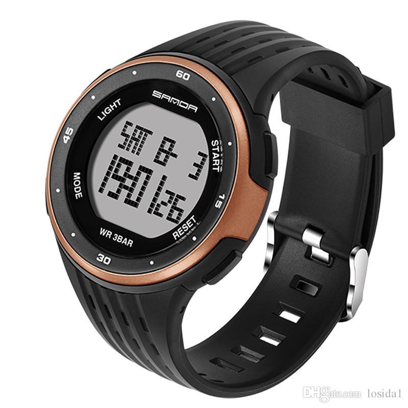 9b806e11512c Compre 2018 Relojes Deportivos Para Hombre Hombre Al Aire Libre LED Digital  Pulsera Para Hombre Relojes De Pulsera De Lujo Reloj Despertador G Style  Shock ...