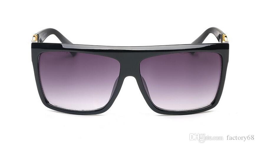 Conduce Gafas Uv400 Hombres De Espejo Que Cuadradas Marca Para Diseñador Sol Hombre H2DI9eYWE