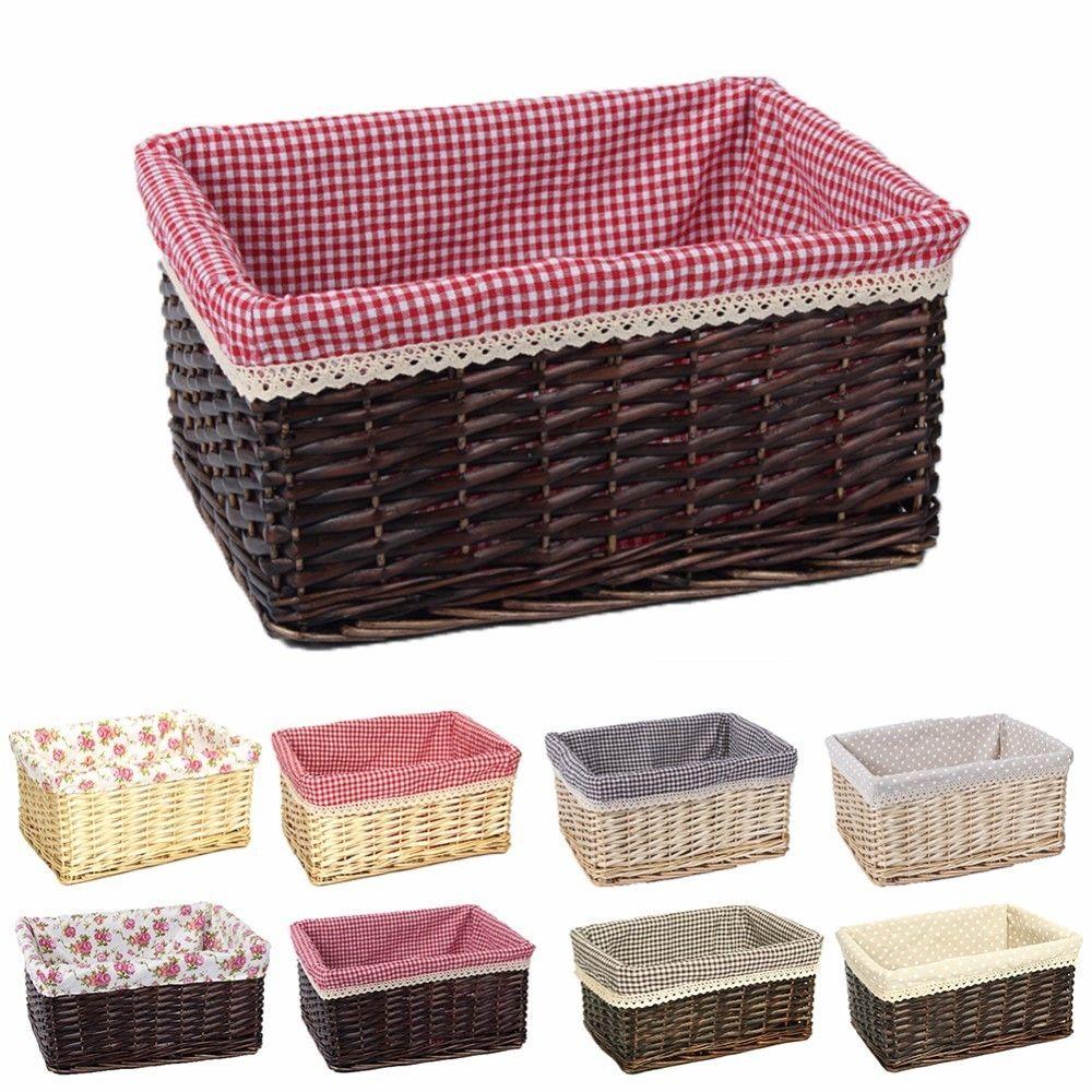 2018 Storage Basket Rattan Belly Basket Natural Plant Toys Laundry
