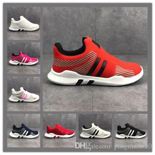 low priced f8ec8 52ec2 Children s Infant luxury designer EQT Kids youth boost Running Shoes  Support Toddler Athletic Boys Girls Sneakers trainers Olive Sports
