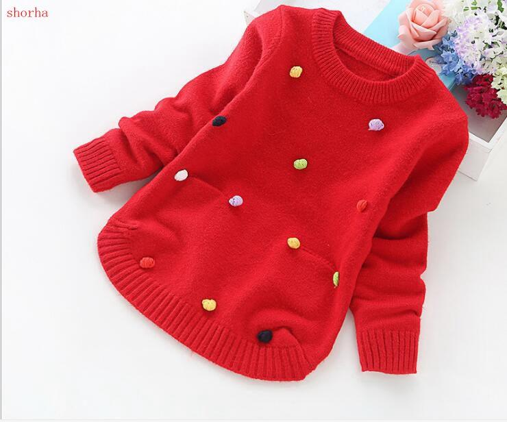 3d4278f00 Autumn Winter Children Round Neck Kids Sweaters Beautiful Solid Colors  Girls Sweater Boys Pullover Basic Shir3 12 Years Free Knitted Baby Sweater  Patterns ...