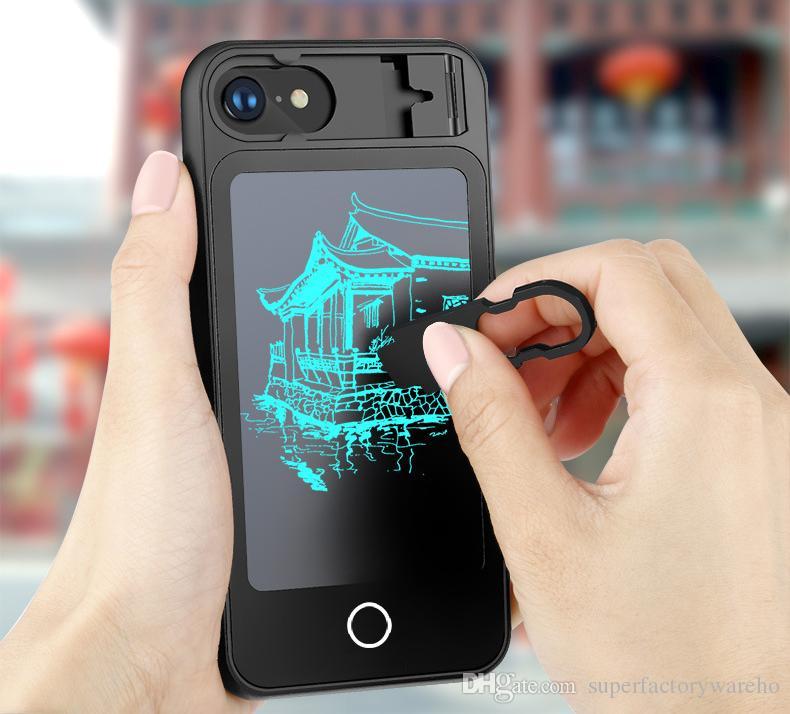 Satın Al Yazma Tablet Telefon Kılıfı Için Iphone X 8 8 Artı Boyama