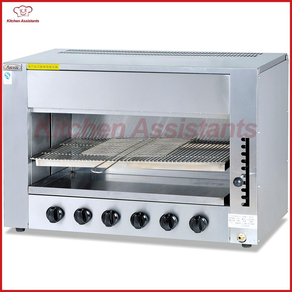 GT16 Commerical Gas Infrared Salamander Grill Oven Machine of Bbq ...