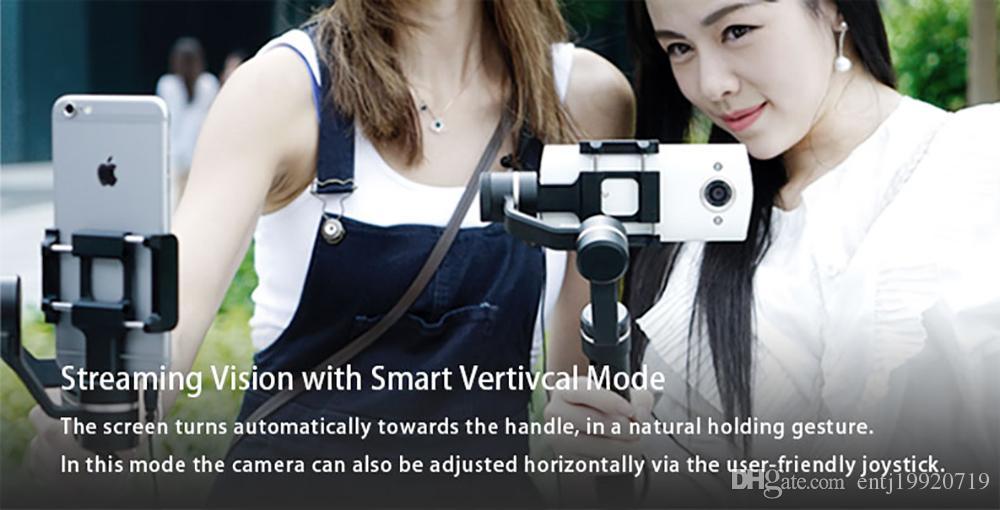 FeiyuTech Feiyu SPG Gimbal 3-Axis Splash Proof Handheld Gimbal Stabilizer for iPhone X 8 7 6 Plus Smartphone Gopro Action Camera
