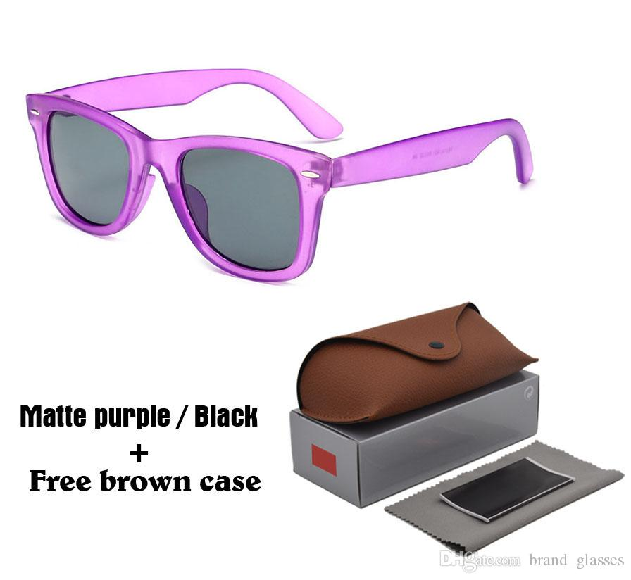 138ad056c6 2018 Hot Sell Fashion Beach Brand Designer Sunglasses Men Women UV400  Protection Lens Vintage Glasses Retro Eyewear With Brown Cases And Box  Discount ...