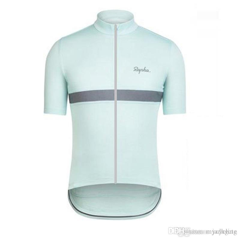 2018 Rapha Cycling Jersey Short Sleeves Summer Mtb Bike Shirts ... 4bf080aee