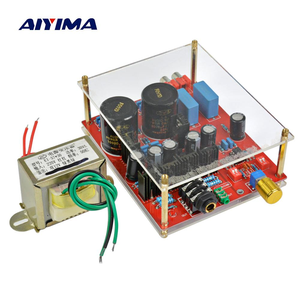 Aiyima Lehmann Circuit Design Lm317 Lm337 Voltage Regulator Ne5532 Country Half Lm833 Op Amp Bd139 Bd140 Board Battery Hearing Amplifiers High End Audio