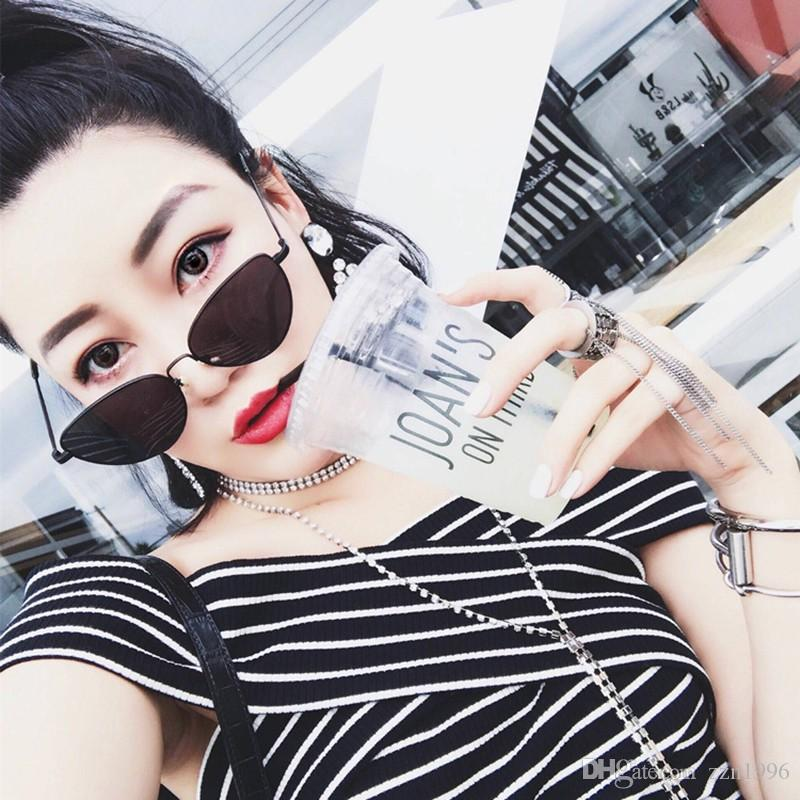 e1f8388f1c Women Cat Eye Sunglasses Retro Metal Woman Ocean Mirror Sunglass Uv400  Eyewear Prescription Sunglasses Glasses Frames From Atsunglass1996
