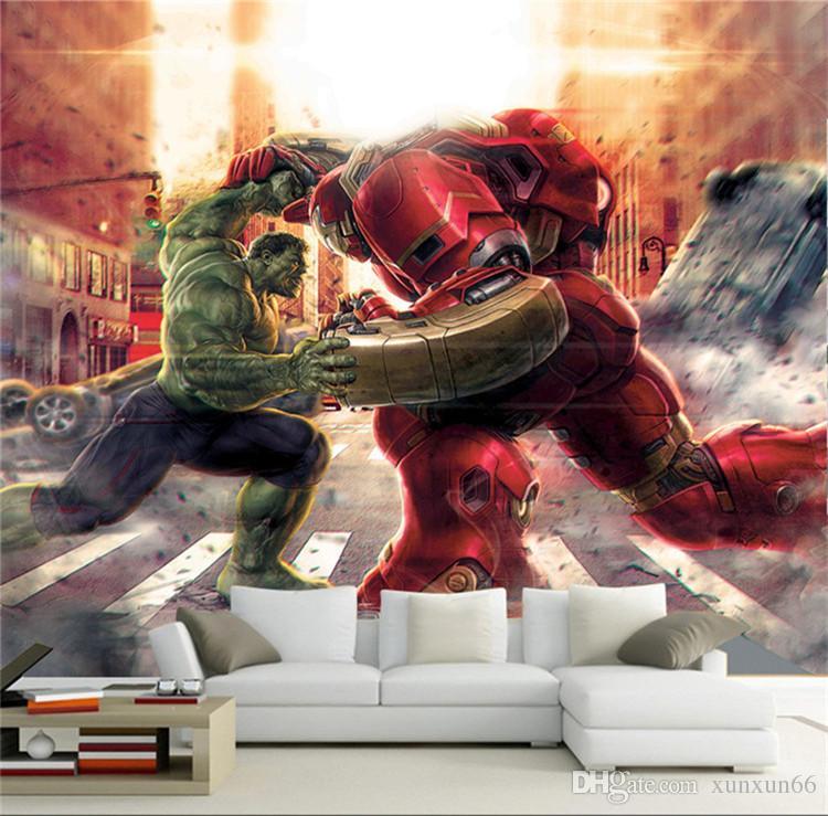 Acheter Personnalisé De Bande Dessinée 3D Marvel Hero