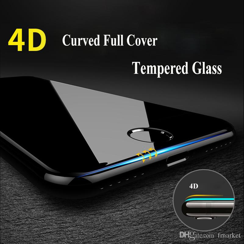 Tempered Glass Screen Protector for iPhone X/8/6 2.5D 9H Explosion Proof Mobile Phone Front Screen Protective Film