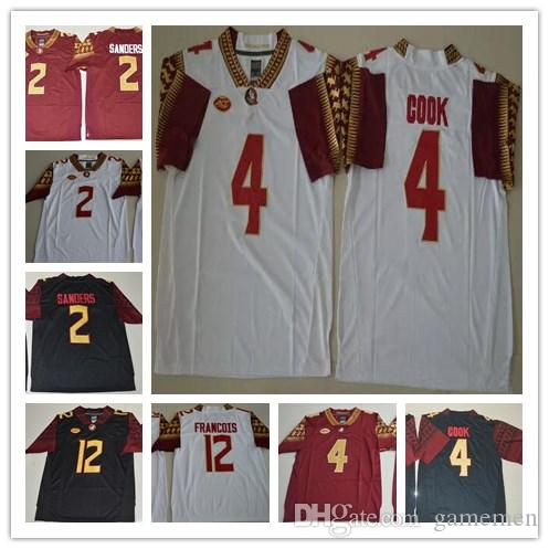 hot sale online ad103 51663 spain florida state seminoles 2 deion sanders white limited ...